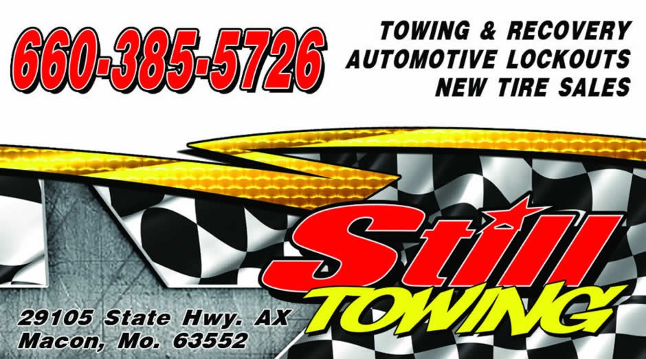 Still Towing - Macon, MO -Serving your towing, recovery, mechanical and new tire needs.